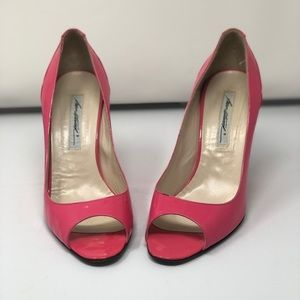 Brian Atwood, Fun Hot Pink Wedges